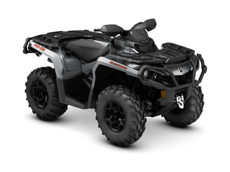 2016 Can-Am Outlander XT 650 Brushed Aluminum