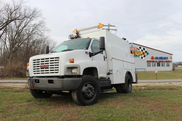 2005 Gmc C7500 Utility Truck - Service Truck, 2