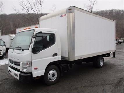 2012 Mitsubishi Fuso Fe125  Box Truck - Straight Truck