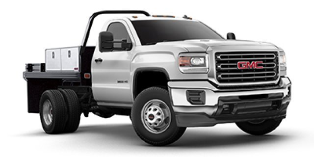 2017 Gmc Sierra 3500 Hd  Cab Chassis