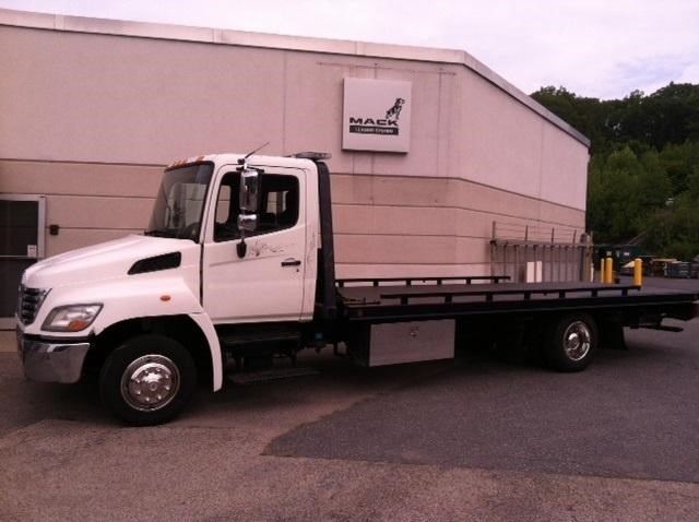 2010 Hino 358  Rollback Tow Truck