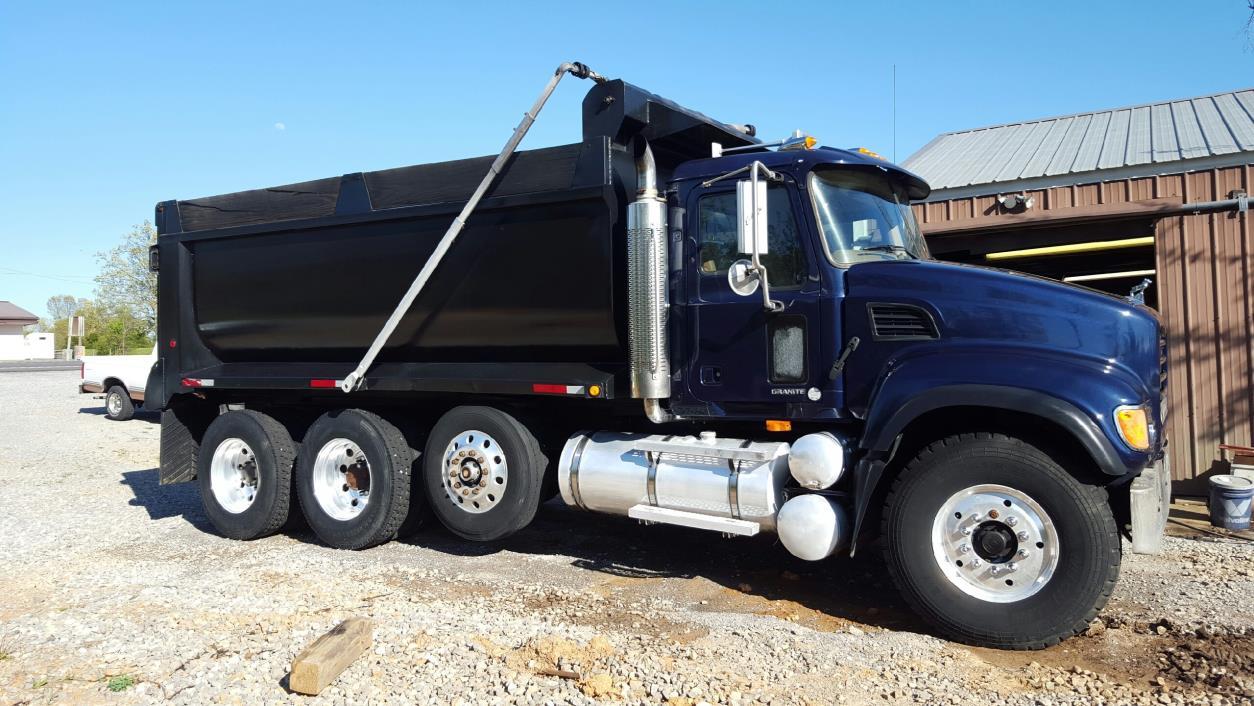 2002 Mack Granite Cv713 Dump Truck