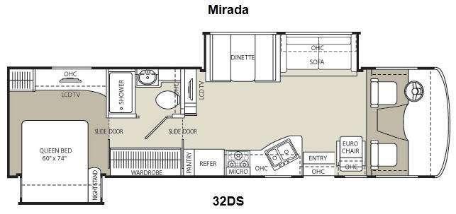 2013 Coachmen Rv Mirada 32DS