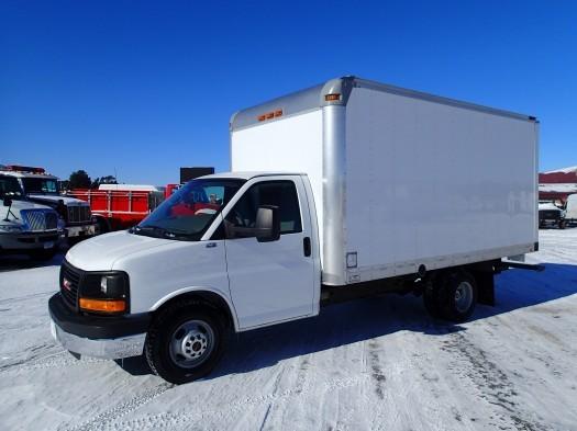 2012 Gmc Express Cargo Van  Box Truck - Straight Truck