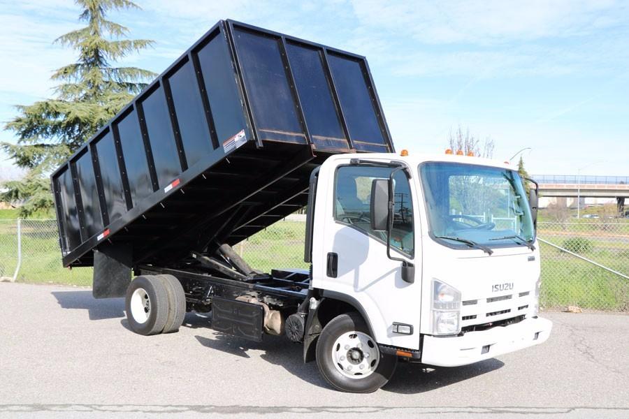 2011 Isuzu Npr  Dump Truck