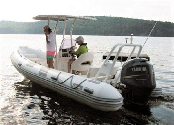 2008 Caribe UB20 RIB with Trailer