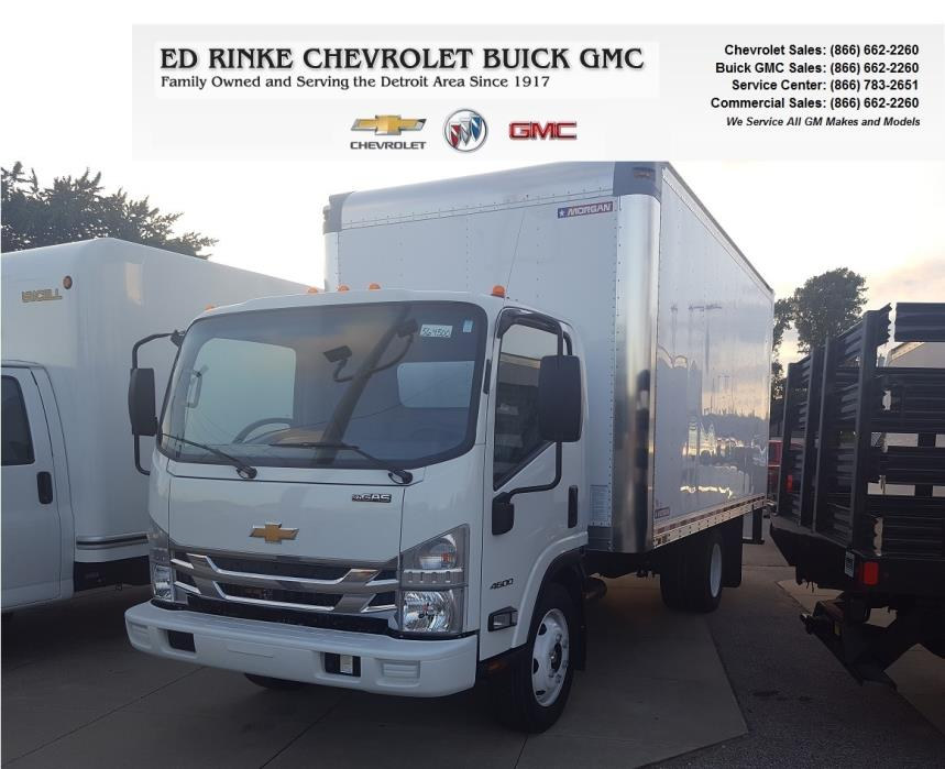 2016 Chevrolet Low Cab Forward 4500 Cabover Truck - COE