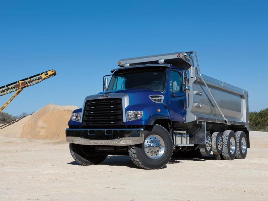 2018 Freightliner 114sd Dump Truck