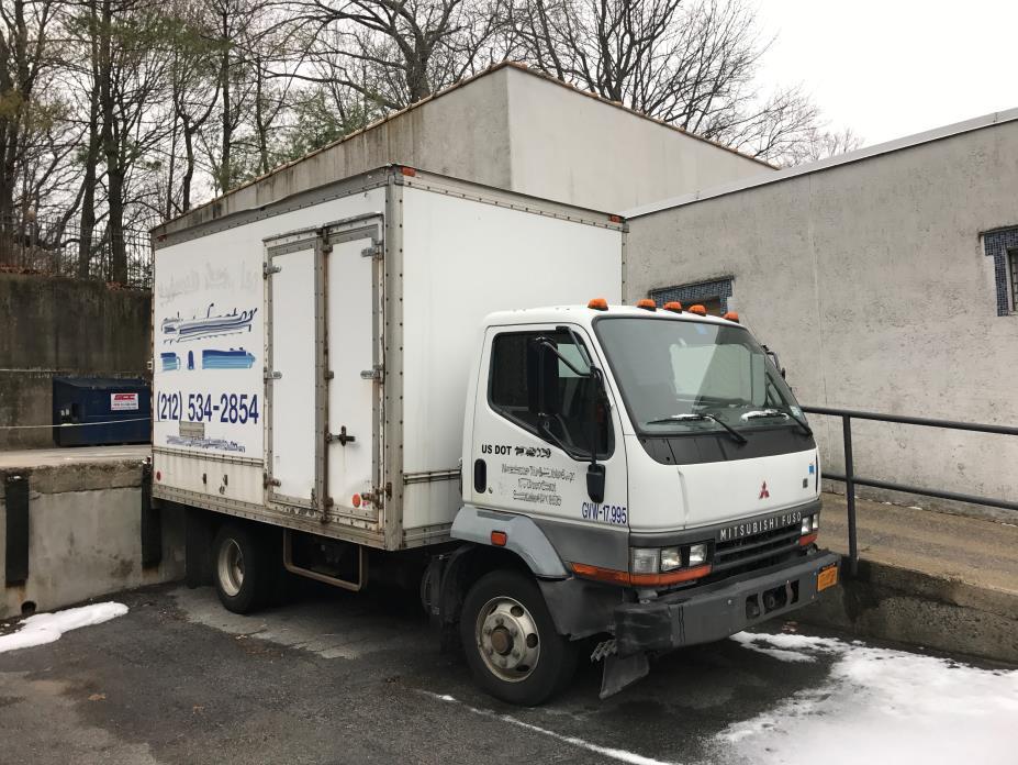 2004 Mitsubishi Fuso Fh211  Box Truck - Straight Truck