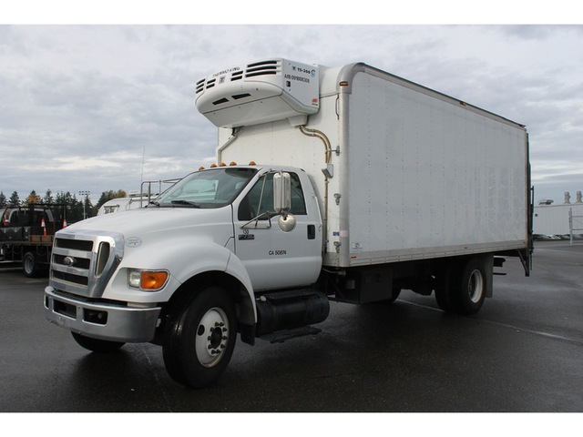 2009 Ford F-750  Refrigerated Truck