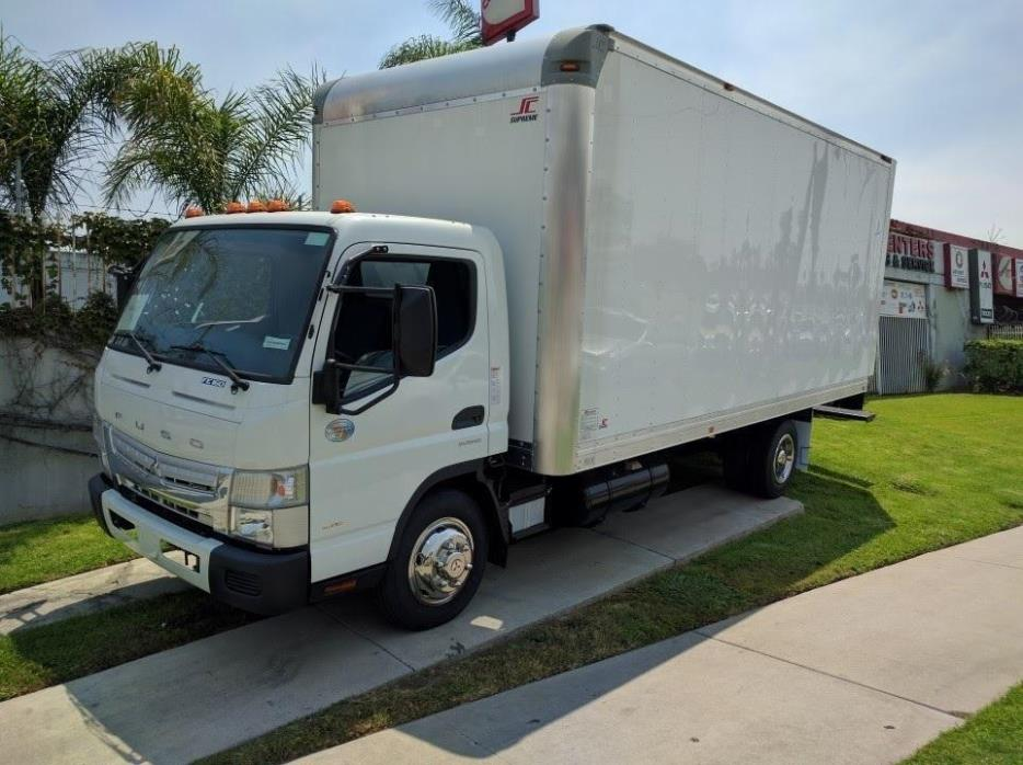 2017 Mitsubishi Fuso Fe160  Box Truck - Straight Truck