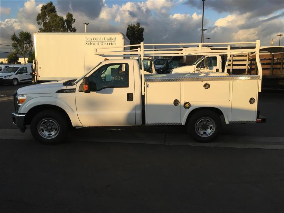 2015 Ford F250 Utility Truck - Service Truck, 1