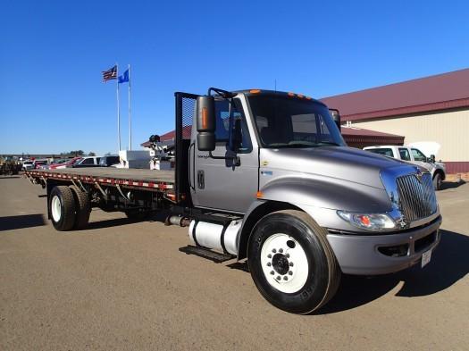 2012 International Durastar Flatbed  Flatbed Truck