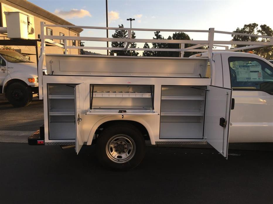2015 Ford F250 Utility Truck - Service Truck, 7