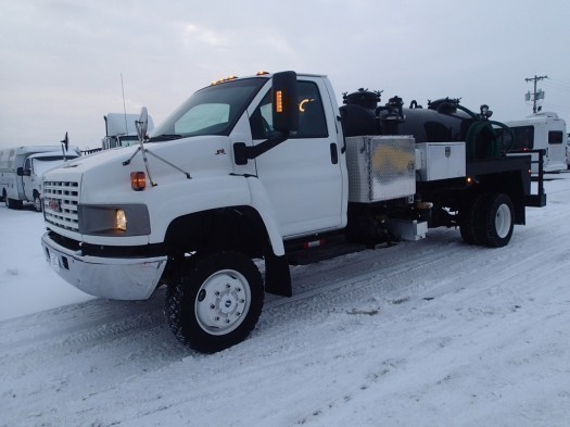 2006 Gmc C5500 4 X 4 Satellite Industries Septic Vacuum Truck  Vacuum Truck