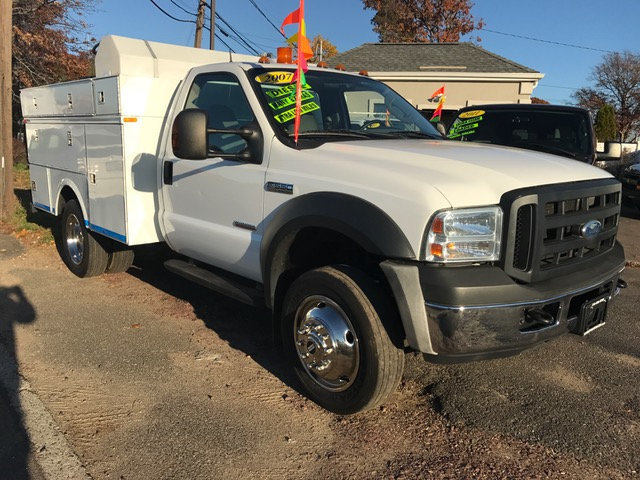 2007 Ford F550 Utility With Utilicore Md-100 Coring Drill Auger
