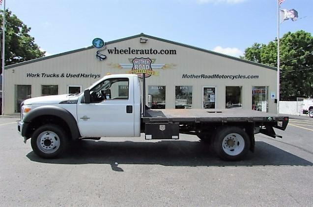 2011 Ford F450  Flatbed Truck