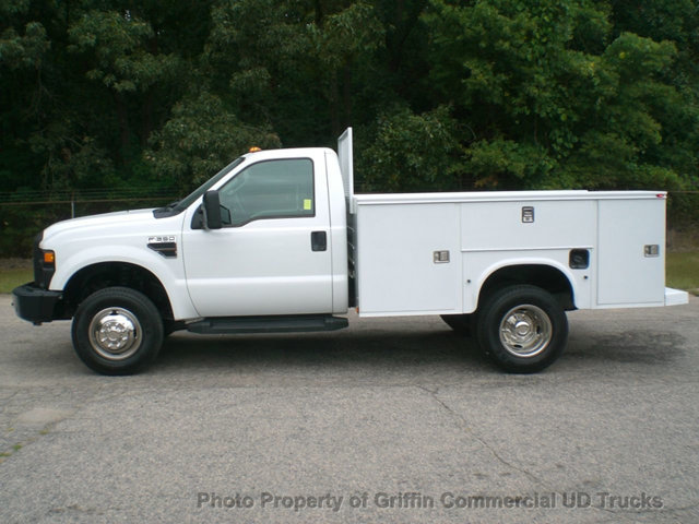 2008 Ford F350 Drw 4x4 Utility Service Body 17k Miles  Utility Truck - Service Truck