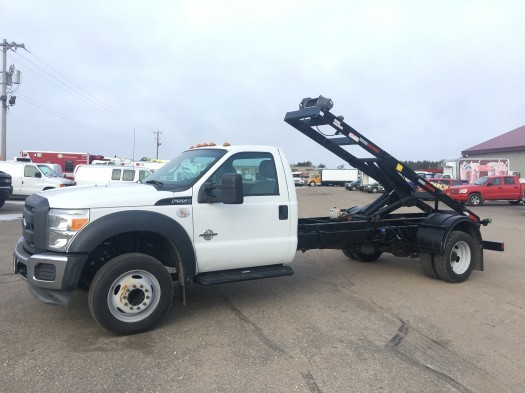 2012 Ford F-550 Super Duty Rolloff Hoist Roll Off Truck