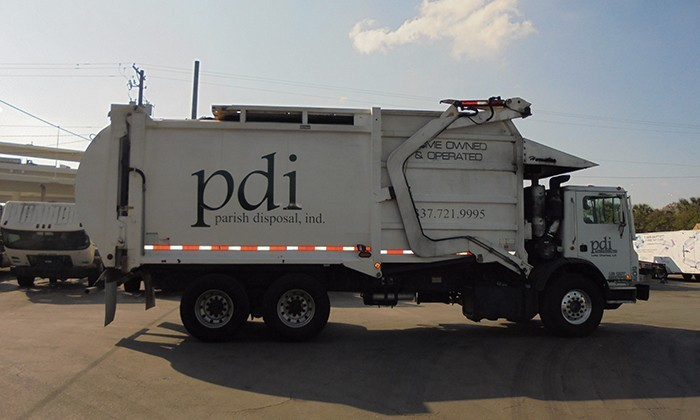 2013 Mack Mru613 Garbage Truck, 4