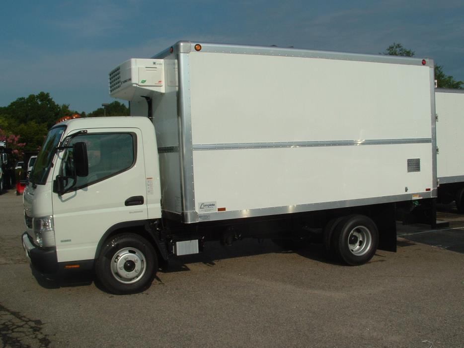 2017 Mitsubishi Fuso Fe130  Refrigerated Truck