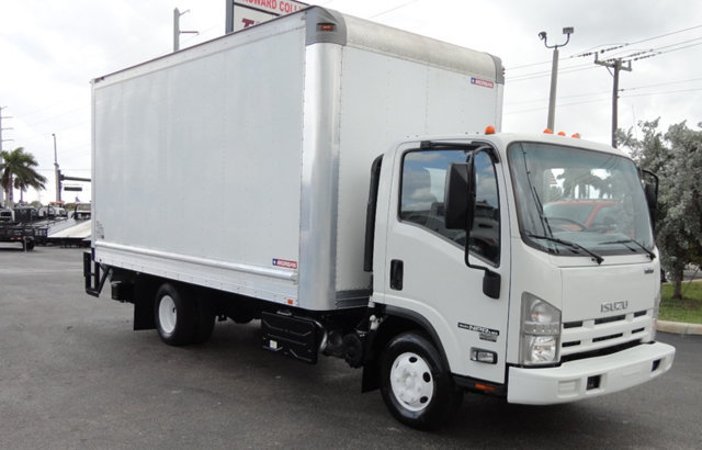 2012 Isuzu Npr Hd  Box Truck - Straight Truck