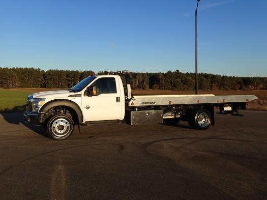 2013 Ford F-550 Super Duty Jerr-Dan Rollback Tow Truck  Rollback Tow Truck