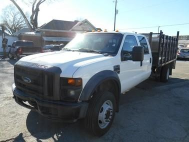 2008 Ford F550 Xl  Flatbed Truck