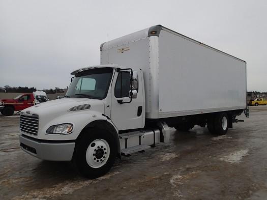 2014 Freightliner Business Class  Box Truck - Straight Truck