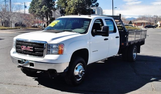 2012 Gmc Sierra 3500 Hd Flatbed Truck