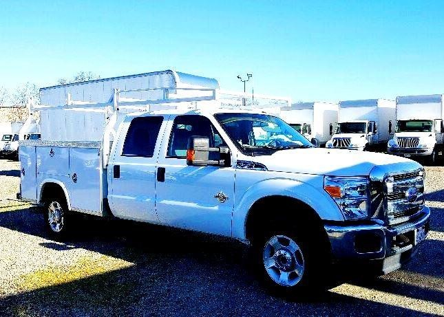 2016 Ford F350 Sd Utility Truck - Service Truck, 1