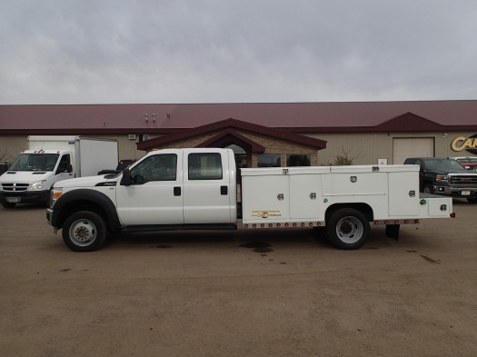 2011 Ford F550 Super Duty Crew Cab  Utility Truck - Service Truck