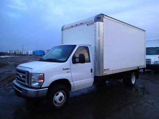 2013 Ford E-350 Super Duty  Box Truck - Straight Truck