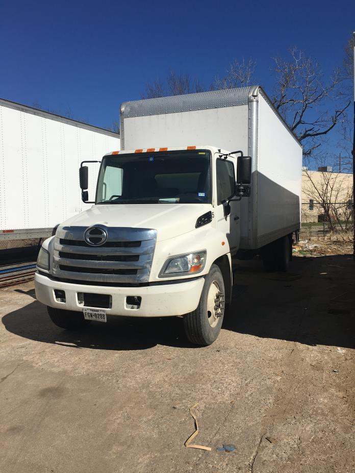 2012 Hino 268 Box Truck - Straight Truck, 0