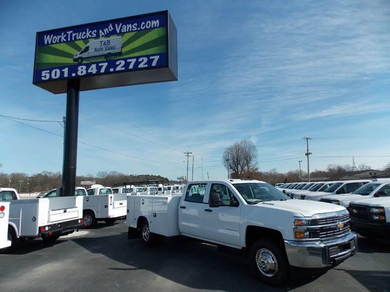 2015 Chevrolet Silverado 3500hd  Utility Truck - Service Truck