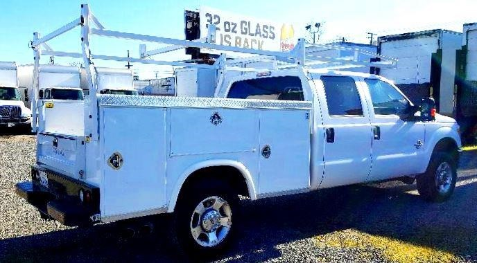 2016 Ford F350 Sd Utility Truck - Service Truck, 2