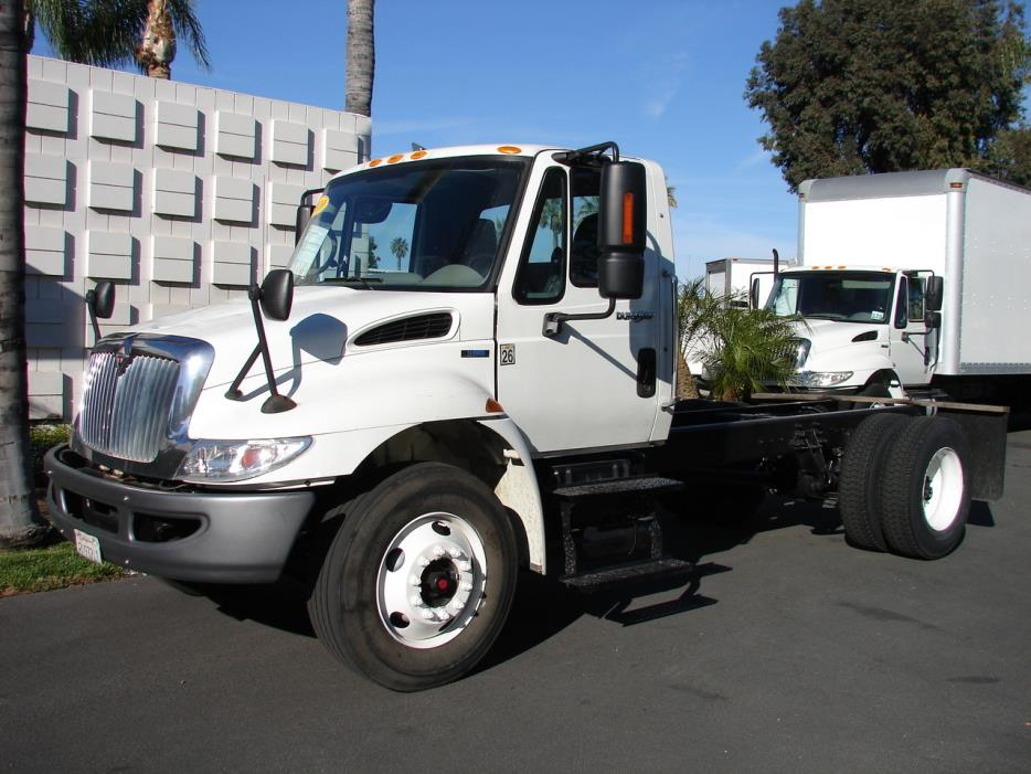 2010 International 4300  Cab Chassis