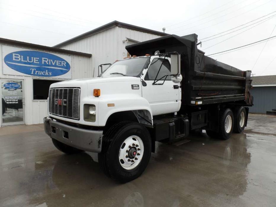 1999 Gmc C8500 Dump Truck, 9