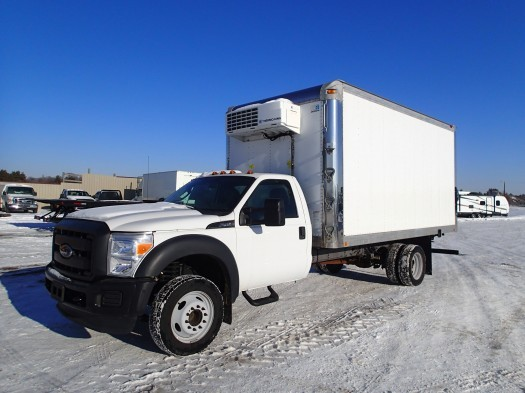 2015 Ford F-450 Super Duty Reefer  Refrigerated Truck