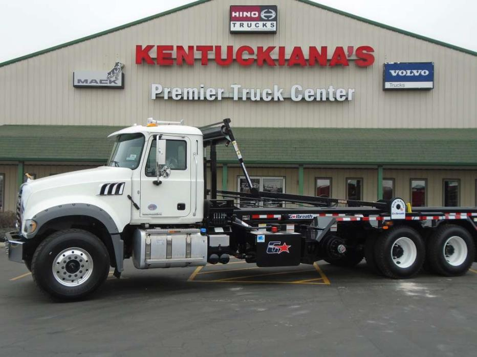 2017 Mack Granite Garbage Truck, 1