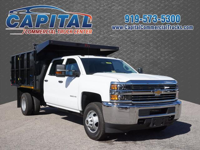 2016 Chevrolet Silverado 3500hd Dump Truck