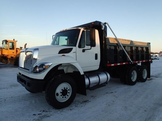 2011 International 7400 Dump Truck  Flatbed Dump