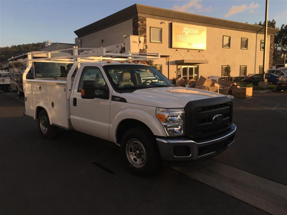 2015 Ford F250 Utility Truck - Service Truck, 9