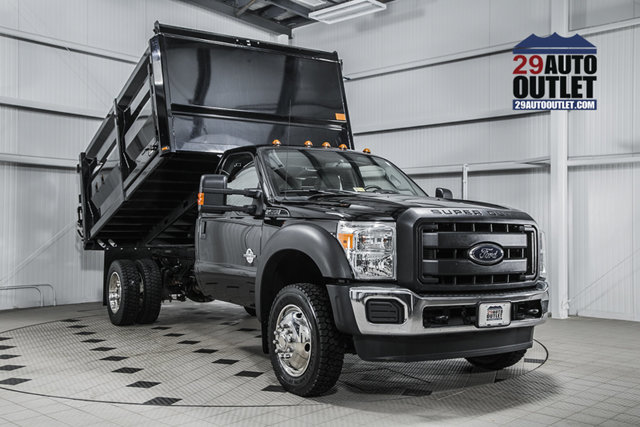 2016 Ford Super Duty F-550 Drw  Dump Truck