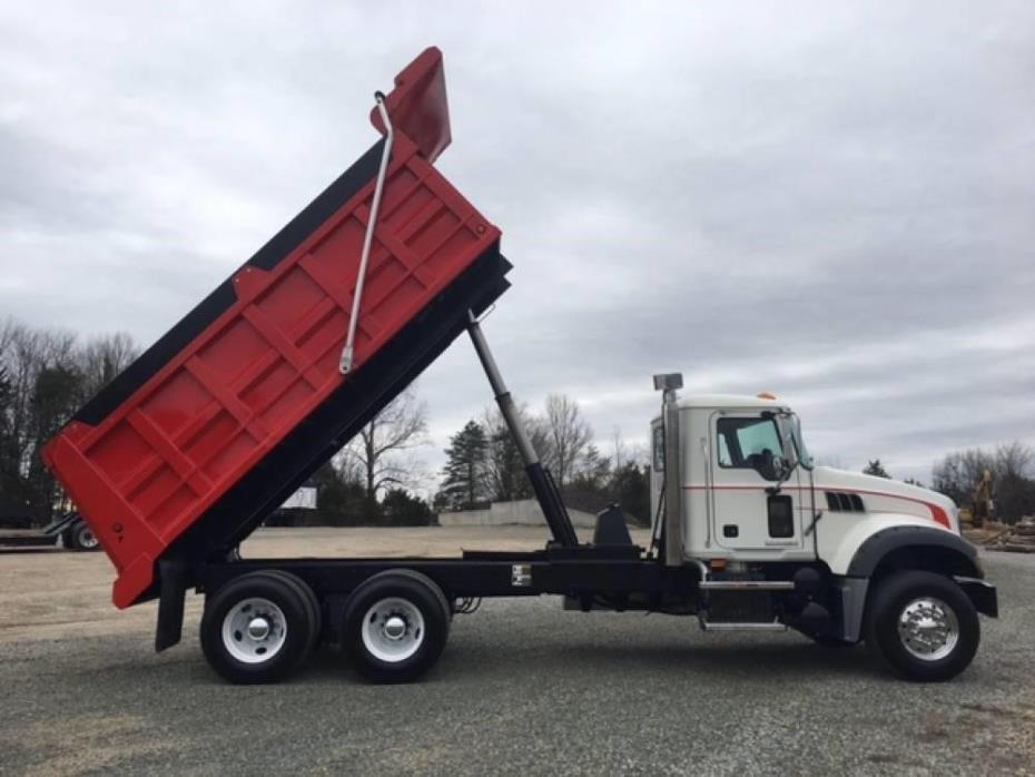 2009 Mack Granite Gu713 Dump Truck, 6
