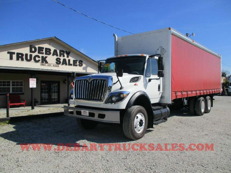 2009 International Workstar 7600 Box Truck - Straight Truck, 1