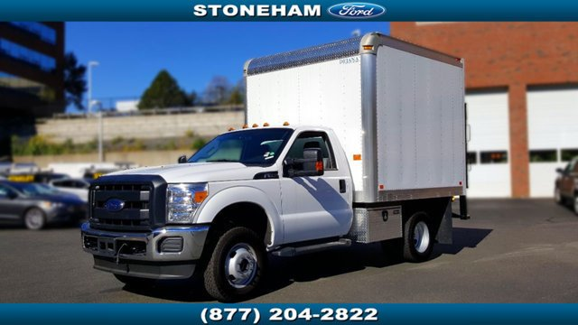 2016 Ford Super Duty F-350 Drw Cab-Chassis  Box Truck - Straight Truck