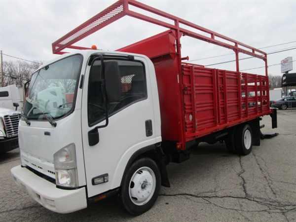 2010 Isuzu Nrr  Flatbed Truck