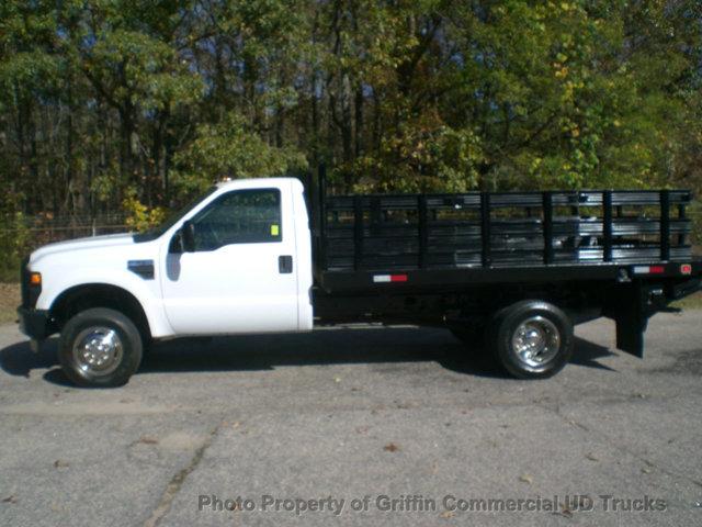 2008 Ford Super Duty 4x4 22k Mi Rack Flatbed Rack  Utility Truck - Service Truck