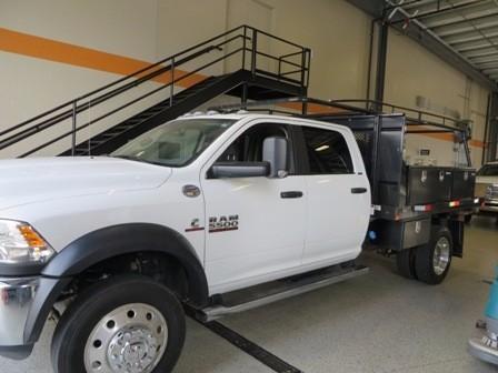 2015 Ram 5500 Flatbed Truck
